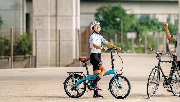 香港の單車旅帖