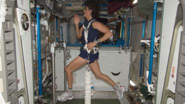 做運動,隨時出發太空旅行!