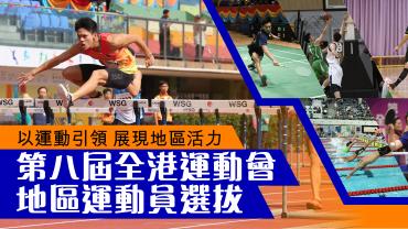 第八屆全港運動會地區運動員選拔